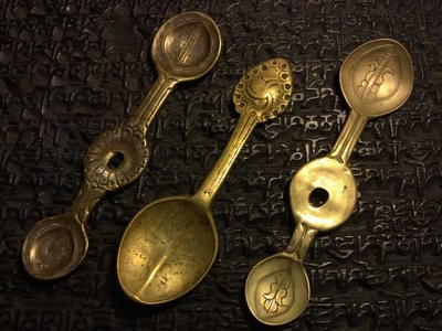 小西藏 藏傳佛教文物 殊勝甘露匙 開門老件 天銅天鐵件 可面交