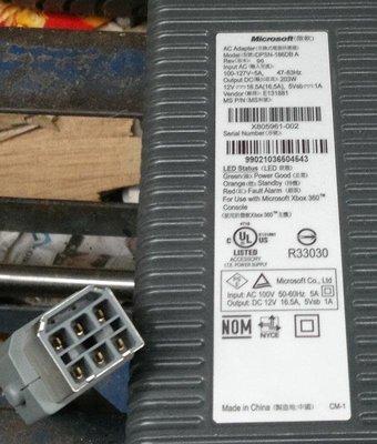 XBOX360原廠變壓器/2手