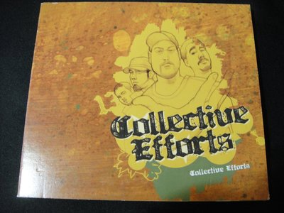 【198樂坊】COLLECTIVE EFFORTS (Rhymes for Life..日版)BU