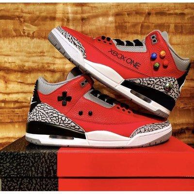 全新正品《新貨情侶款》Air Jordan 3 Retro SE Red Cement 紅水泥 2020全明星籃球鞋CK
