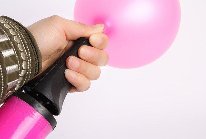 手壓式 打氣筒 打氣機 充氣筒 充氣機 打氣泵 婚禮氣球打氣 瑜伽球打氣 游泳圈 氣球【P11001702】