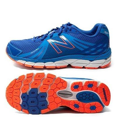 運動GO~ New Balance 慢跑鞋 寶藍 透氣 健走 越野跑鞋 M760BO1 2E寬楦 US8.5