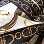 日本製,Roberta Di Camerino 大手帕/頸巾,約56cm