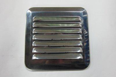 ST不銹鋼*平面(方型)外氣罩,通氣罩,排風罩,換氣口,通風口,排氣罩