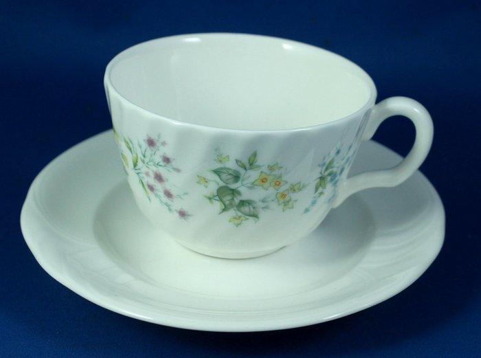 [美]英國百年名瓷MINTON骨瓷茶杯/咖啡杯二用杯盤組SPRING VALLEY+PROFILE