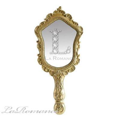 【芮洛蔓 La Romance】 Mindy Brownes - 公主系列典雅手拿鏡