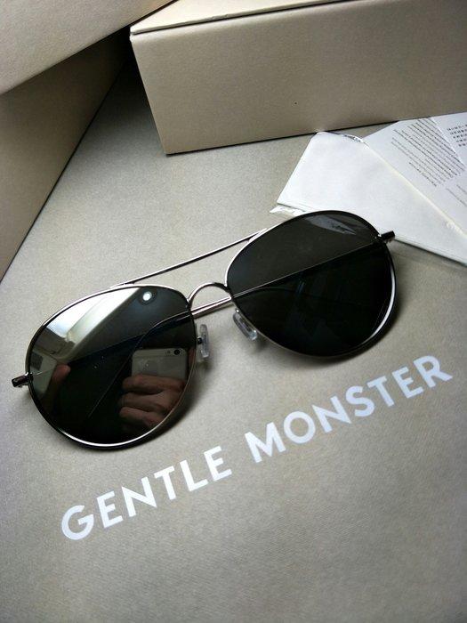 全新正品 gentle monster Ranny Ring 02(1m) 韓國V牌 GM 薛之謙 全智賢 銀框 水銀