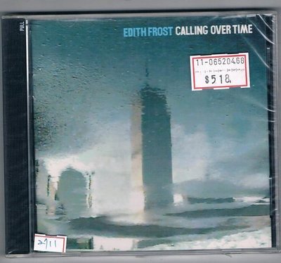 [鑫隆音樂]西洋CD-EDITH FROST:CALLING OVER TIME-原裝進口盤 (全新)/免競標