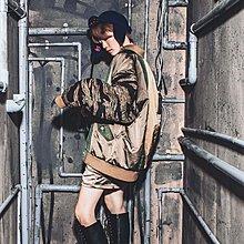 美國東村【SLIGHTLY NUMB】FUXI BOMBER JKT 迷彩 拼接 鋪棉 短身 外套
