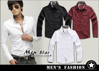 【Men Star】免運費 韓版燙金款...