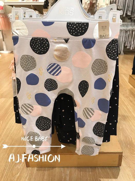☆AJ.FASHION☆ 代購歐美 cotton on baby 彩色泡泡 造型褲 PP褲 內搭褲 現貨