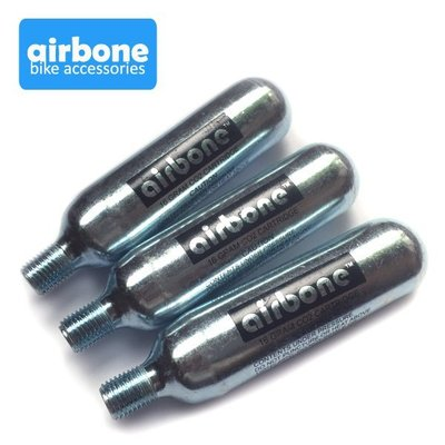 airbone CO2螺牙鋼瓶(三支) 台灣製~CO2打氣筒適用