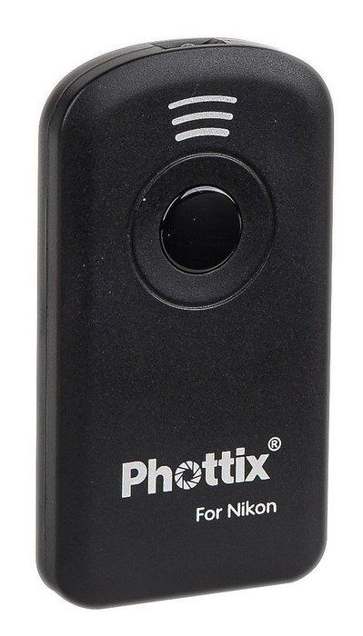 呈現攝影-德國 Phottix IR REMOTE 紅外線遙控器 無線遙控器 for NIKON 似ML-L3