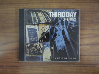 ◎MWM◎【二手CD】Third Day Offerings-A Worship Album 光碟美版,英文歌詞