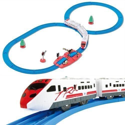 PLARAIL鐵道王國 普悠瑪平交道組_ TP49879