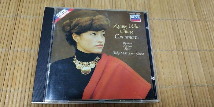 好音悅 半銀圈 Kyung Wha Chung 鄭京和 小提琴抒情小品集 DECCA 德版 無IFPI