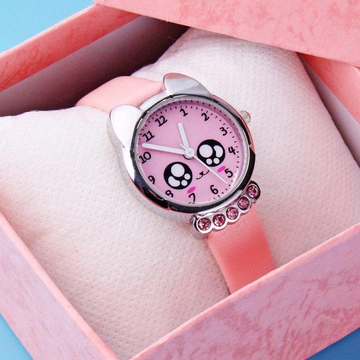 hello小店-兒童手表電子表防水 小孩卡通可愛指針式女孩女童水鉆皮帶石英表#兒童手表#卡通兒童#學生手表#