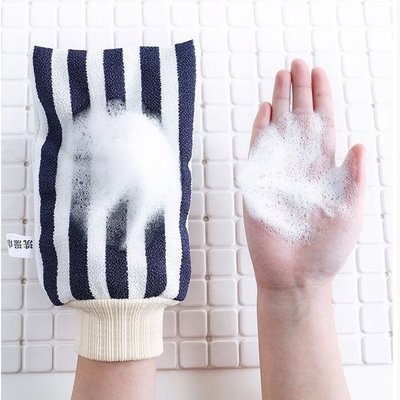 (如意家)歆音搓澡巾成人沐浴手套強力搓灰搓泥雙面搓澡搓澡手套