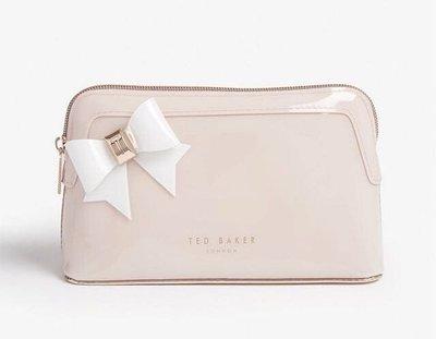 《水榭代購》英國品牌Ted Baker 粉色蝴蝶結化妝包