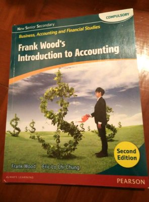 Bafs Frank Wood's Introduction to Accounting Second Edition 中學會計