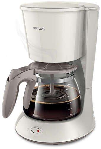 Philips 飛利浦】1.2L Daily Collection 滴漏式咖啡機 - 白色(HD7447)