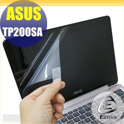 【Ezstick】ASUS TP200 TP200SA 靜電式筆電LCD液晶螢幕貼 (可選鏡面防污或高清霧面)