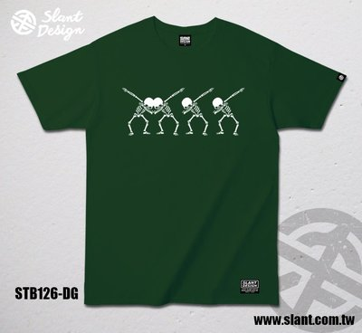 SLANT  嘻哈手勢T恤 中國有嘻哈 SKULL HIP HOP  RAP MUSIC   限量出品 T恤 短袖棉T