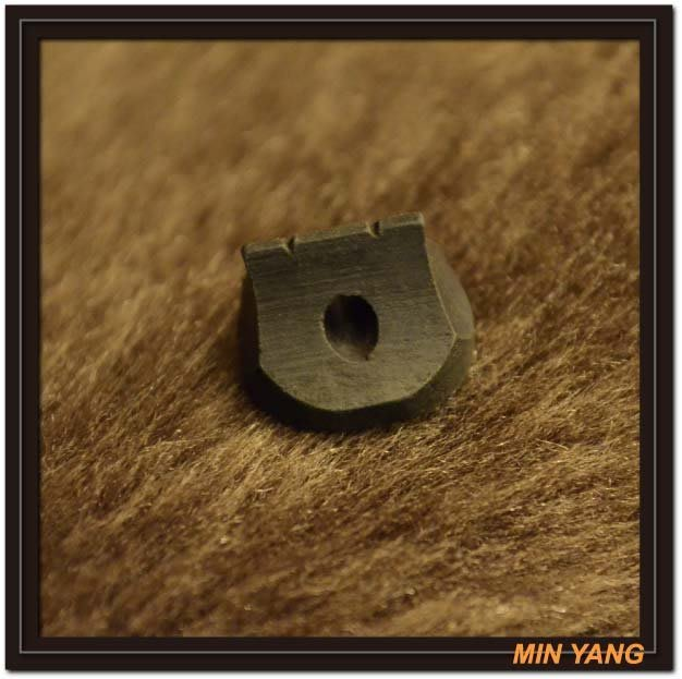 【民揚樂器】二胡琴碼 南胡碼 烏木 圓型