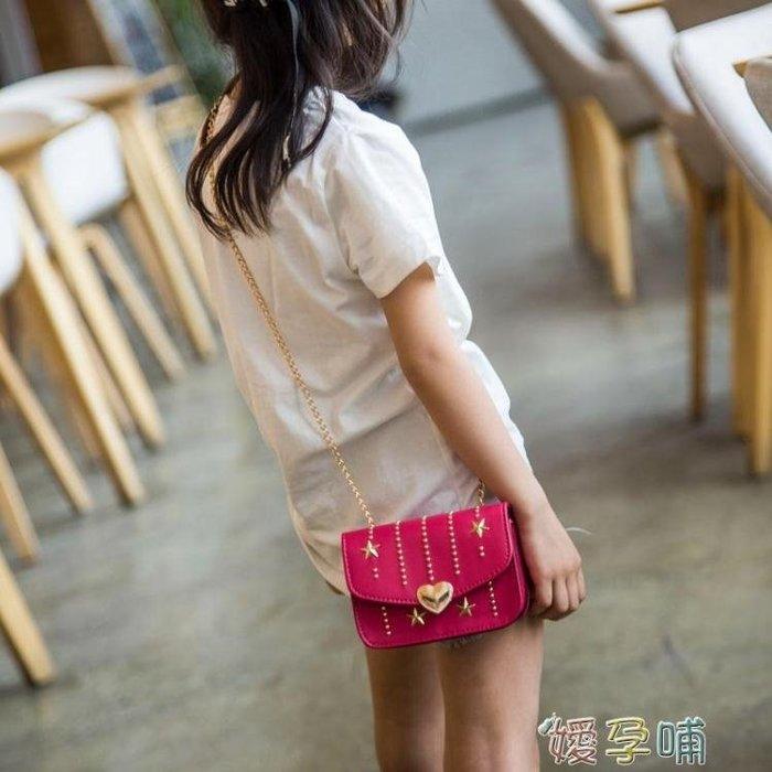 韓版兒童包包公主時尚包女童斜背包可愛小女孩    兒童側背包 〖青木居家〗