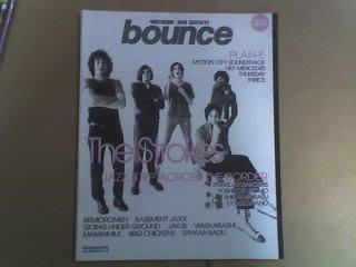日本Tower Records淘兒唱片行Bounce雜誌第248期(封面人物:The Strokes鼓擊樂團)