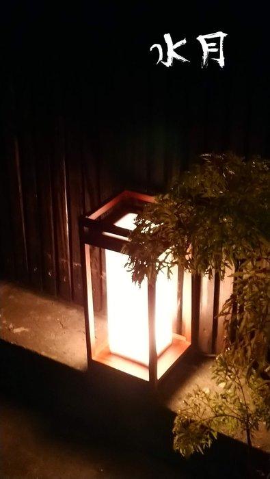 傳統日式燈 水月