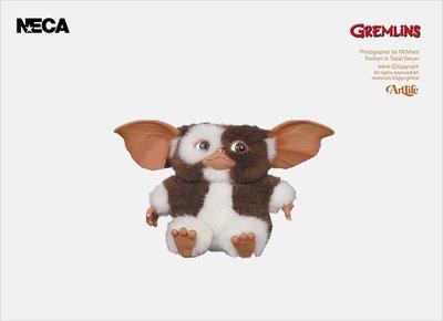"ArtLife @ NECA GREMLINS GIZMO PLUSH DOLL 4"" 經典 華納 小精靈"
