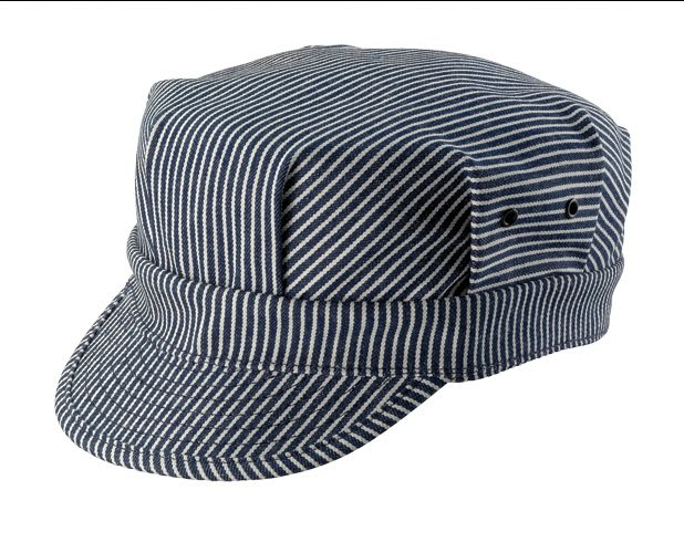 New York Hat #RS6254 HICKORY ENGINEER /Made in USA 藝人最愛配件