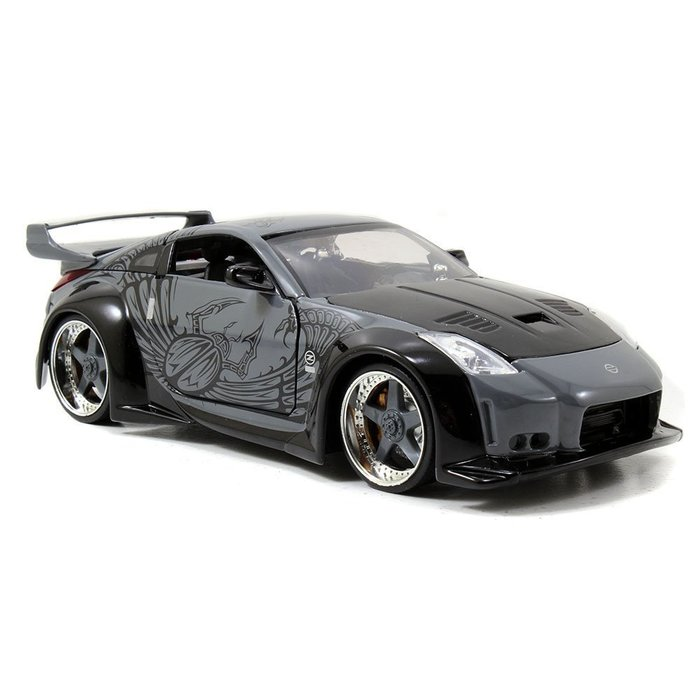 (I LOVE樂多)日本進口 JADA 1/24 D.K's nissan 350z 玩命關頭 模型車