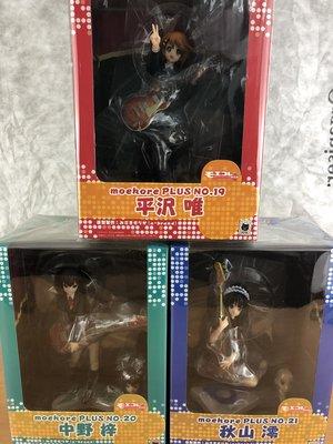 特價 K-ON! 輕音少女 一套三隻 秋山澪 平澤唯 中野梓 Volks PVC 完成品 Figure 模型