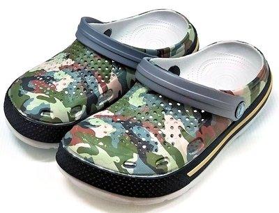 【菲瑪】COQUI 花園鞋 懶人鞋 布希鞋 軟Q無毒無味超輕止滑 迷彩6415