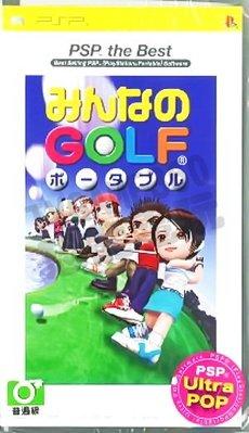 【二手遊戲】PSP 全民高爾夫 攜帶版 Everyone