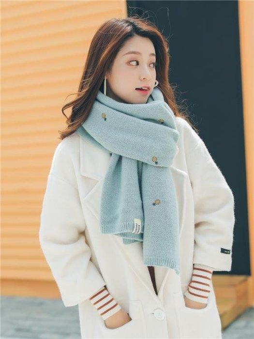 圍巾女冬季毛線韓版加厚學生兩用秋冬軟妹日系小清新披肩針織圍脖