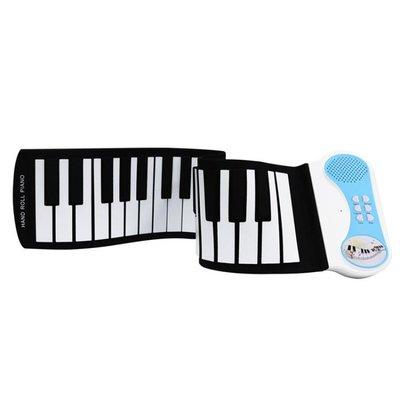 科匯興37鍵兒童益智手卷鋼琴電子琴PN37S幼兒園樂器玩具-蛋蛋年代