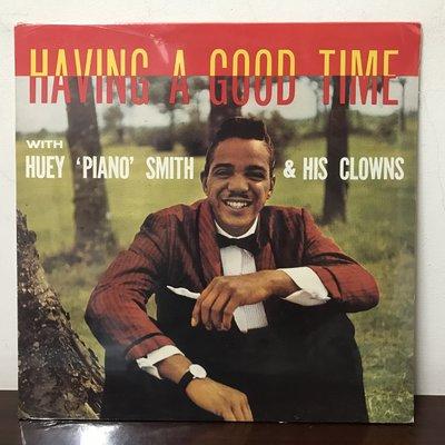 "晨雨黑膠【西洋】全新德版/Huey ""Piano"" Smith & His Clowns–Having A Good.."
