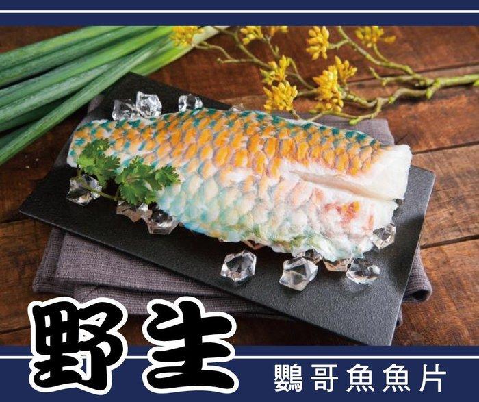 【 hello ocean 】野生 鸚哥魚清肉 250g 真空包   青衣魚片 / 紅衣魚片