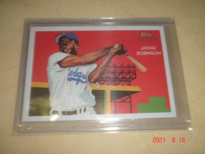 美國職棒 Dodgers Jackie Robinson 2010 Topps National Chicle 球員卡