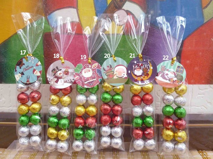 須自行包裝~12顆雙排巧克力串+聖誕小卡任選~結婚禮小物送客禮品贈品聖誕節母親節二次進場婚宴囍糖情人節來店禮滿額禮迎賓禮