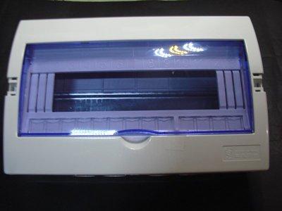 【383】配電箱 13迴路配電箱 無熔絲開關箱 透明開關盒 電控箱 工業控制盒 電子外殼