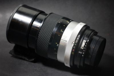 Nikon NIKKOR-Q 135mm F2.8 人像鏡 (玻璃鏡片 稀有AI口)(數位、底片可用) 阿富汗少女鏡參考