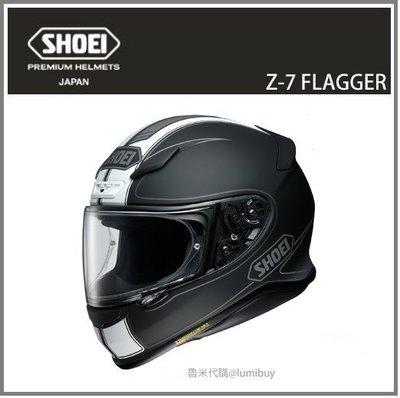【現貨】日本直送 SHOEI Z-7 Z7 FLAGGER TC-5 彩繪 全罩式 安全帽 重機 機車 (白/黑)