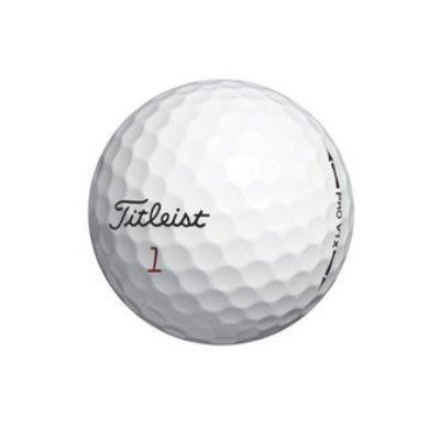 【飛揚高爾夫】Titleist 最暢銷的第一品牌高爾夫球  Pro V1x 四層球 系列  (10顆/ 包) 桃園市