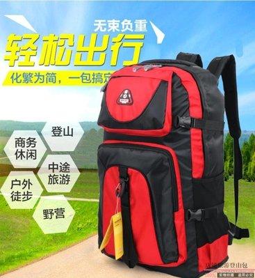 折扣促銷 新款60L超大容量登山包雙肩包男女旅行包特大背包行李包旅游  WD
