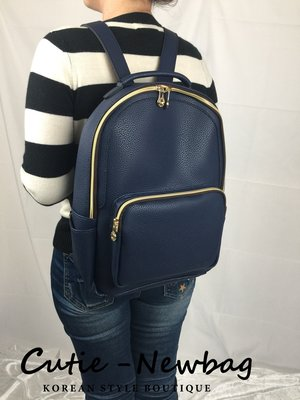 Cutie-Newbag「CB263」韓國直送-皮革後背包-男女生都可背