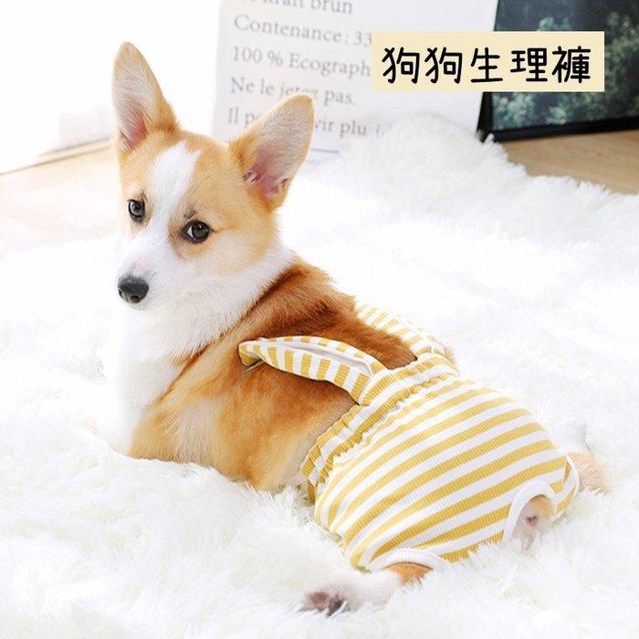小狗狗生理褲衛生巾防懷孕寵物月經褲避孕褲(M/L號)